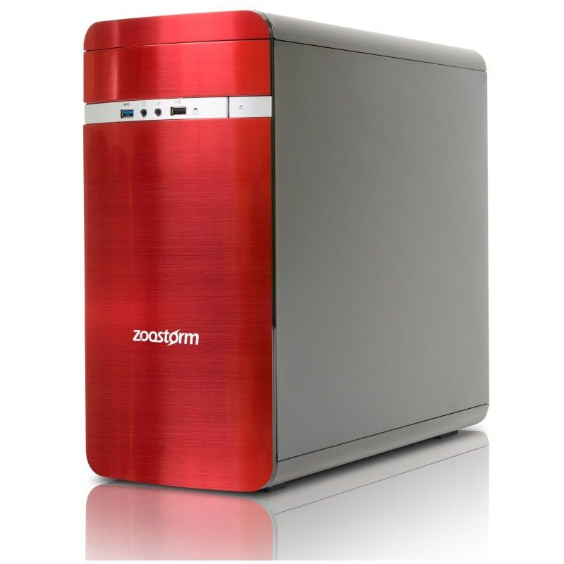 Zoostorm Evolve Desktop PC red